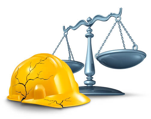 Who is liable when a stairwell collapses on a construction site and causes injuries?