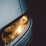 What if a driver in Florida causes an accident because they forgot to put on their headlights?