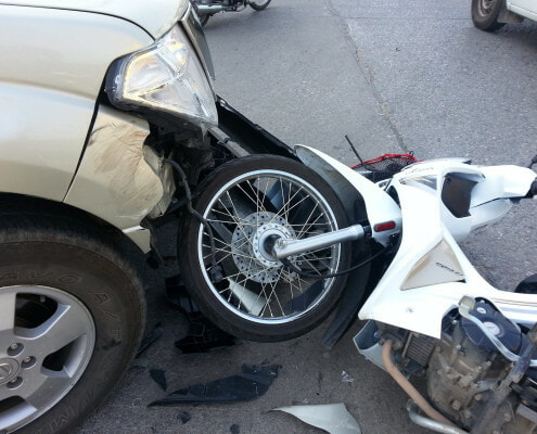 Can a motorcycle accident victim in West Virginia recover compensation for future pain and suffering?