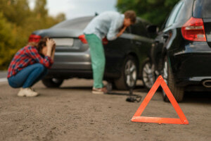 What is considered a car accident?